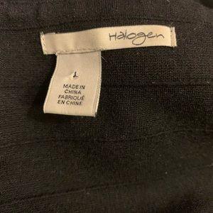 Halogen Dresses - Halogen Midi Black Sheath Dress Size L Sleeveless.